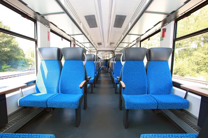 Alstom Coradia iLint Interior