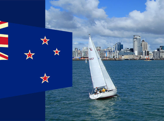 New Zealand Entry to Auckland Harbour