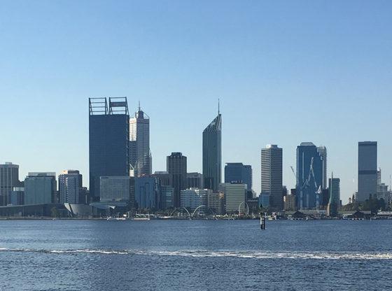 Perth Skyline, Perth, Western Australia