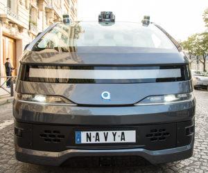 NAVYA Autonom Cab - Front